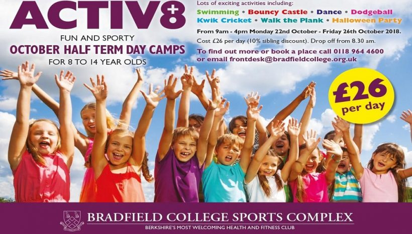 Bradfield ACTIV8 October Half Term Camps
