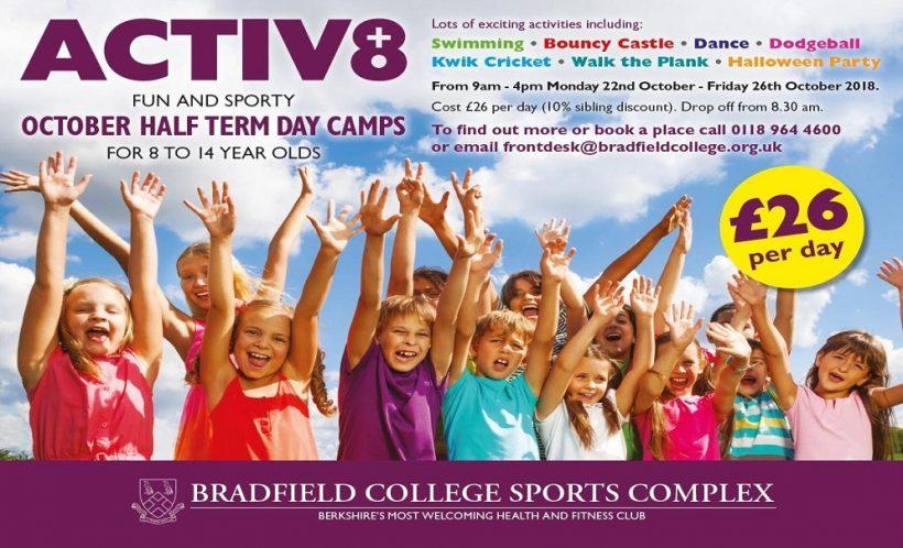 Bradfield ACTIV8 October Half Term Camps