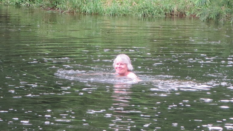 Lesley's Aspire Channel swim
