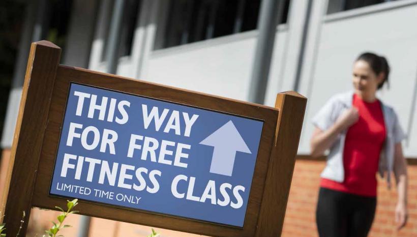 Free Class Offer
