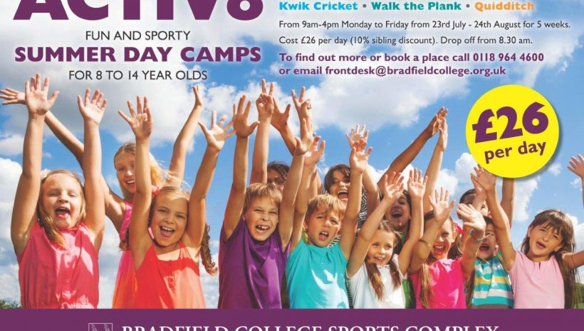 Bradfield ACTIV8+ Summer Day Camps