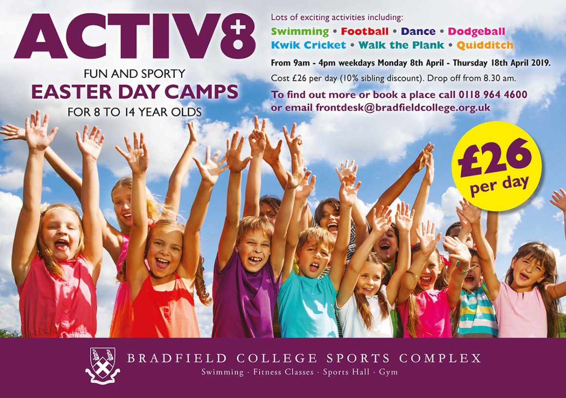 Bradfield ACTIV8 Easter Camps